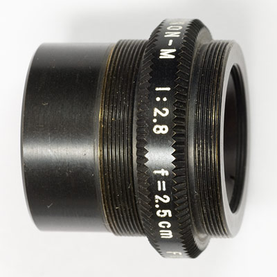 fuji 25mm side view